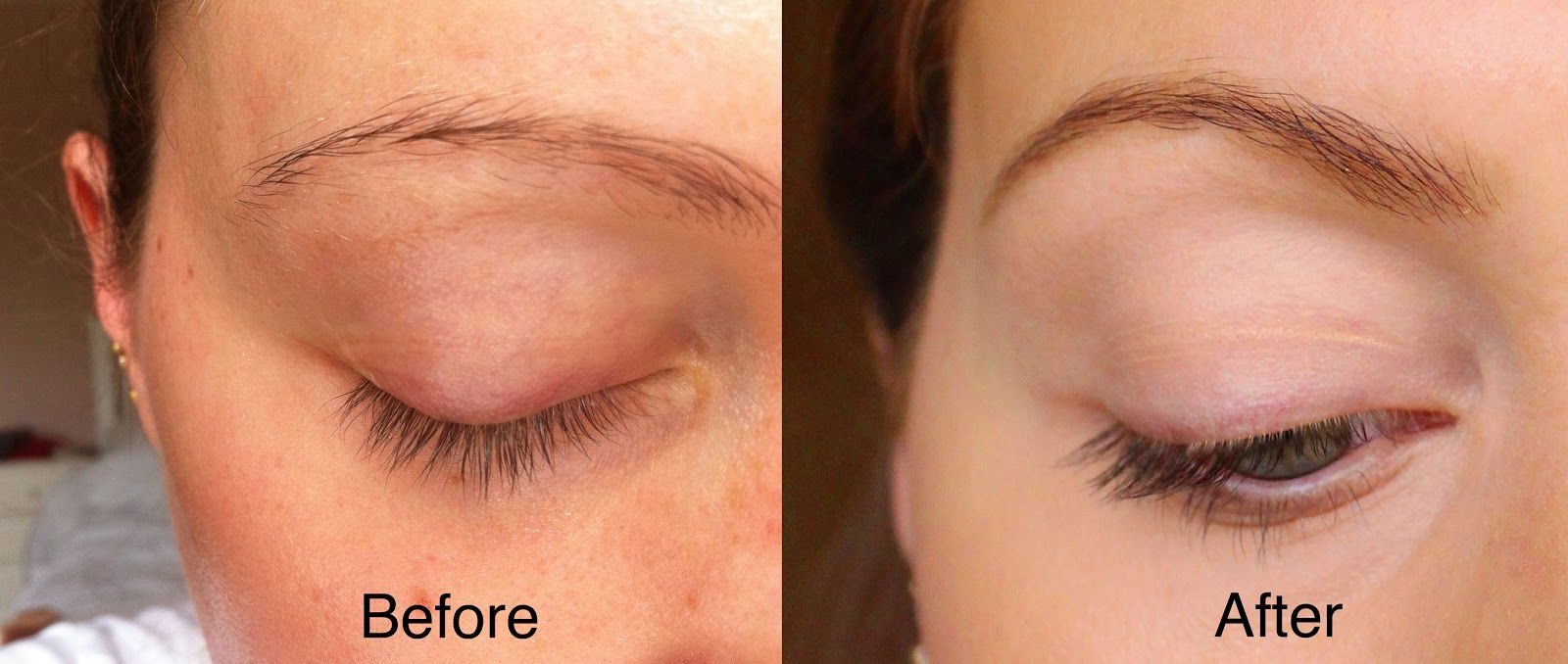 How To Dye Tint Your Eyelashes Eylure Tutorial The Services That I
