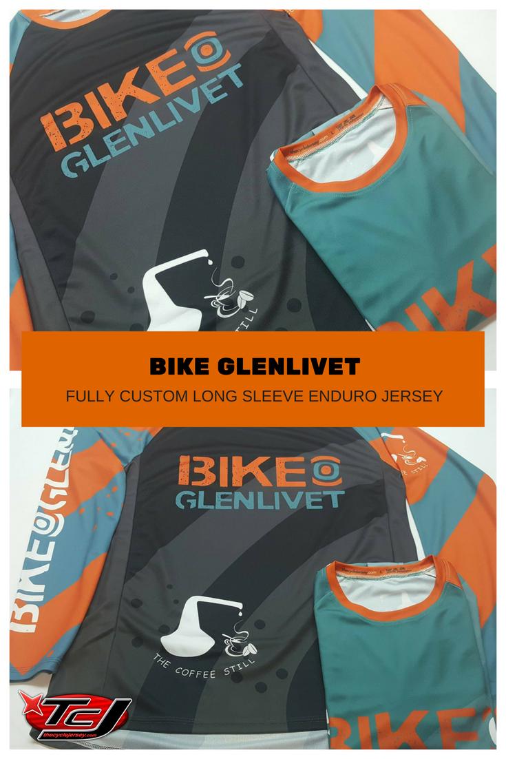 Fully custom Bike Glenlivet enduro style cycle jerseys.  custom   customcyclejerseys  endurojerseys   ea09d62c6