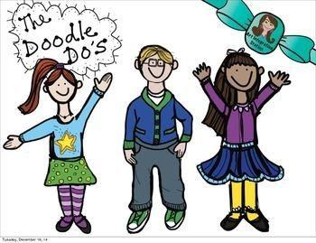 Doodle Do KIDS! Clip Art #ClipArt | by Art Integration Station