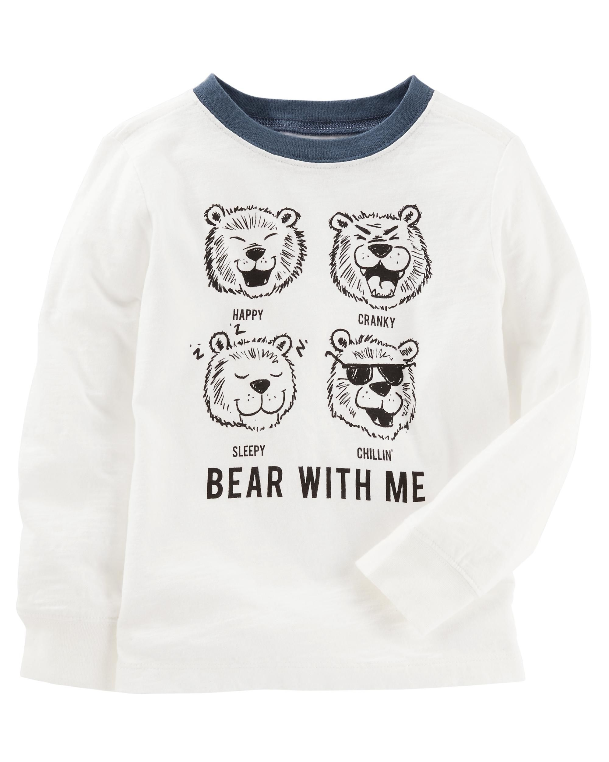 Baby Clothes Near Me Bear With Me Jersey Tee  Toddler Boys And Babies Clothes