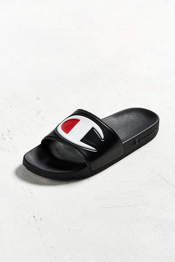 Champion Big C Logo Slide Sandal