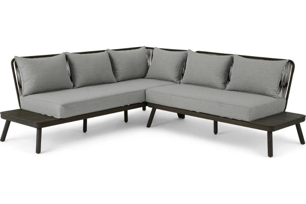 Alif Garten Lounge Set Betongrau Grau Und Eucalyptus Made Com Moebel Liebe Com Garten Lounge Set Garten Lounge Lounge