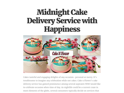 We provides Online cakes home delivery service fulfill you would