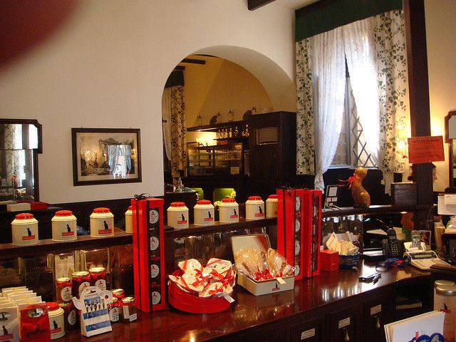 Babington's Tea Rooms Rome   by phototram, via Flickr