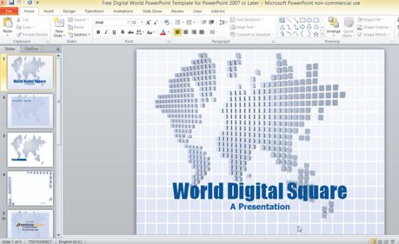 powerpoint 2007 free templates