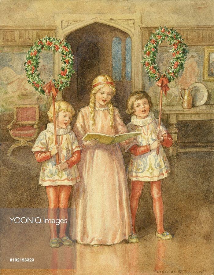 Christmas Illustration, Vintage