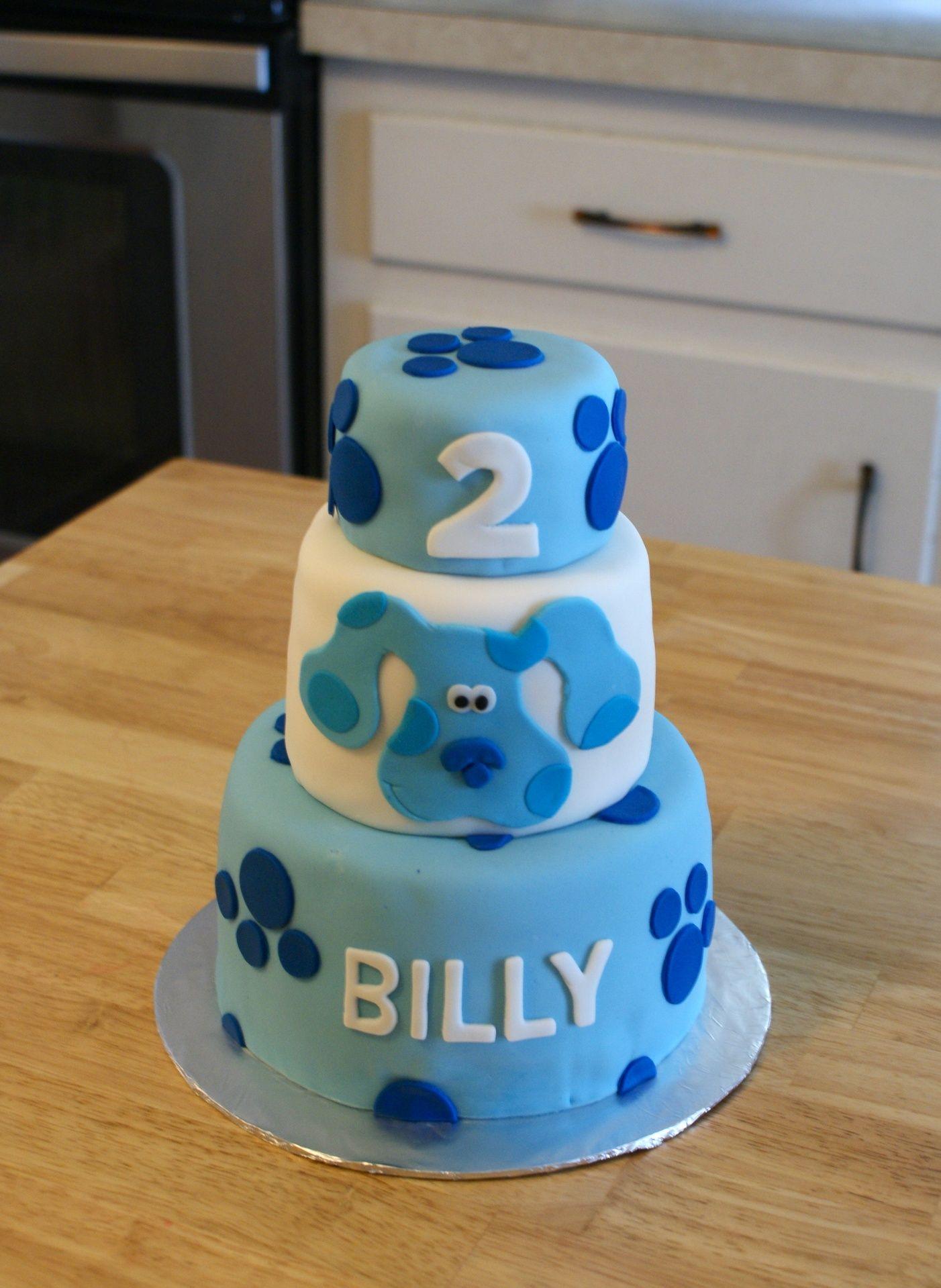 Super Mini Blues Clues Cake Cakes By Meg With Images Boy