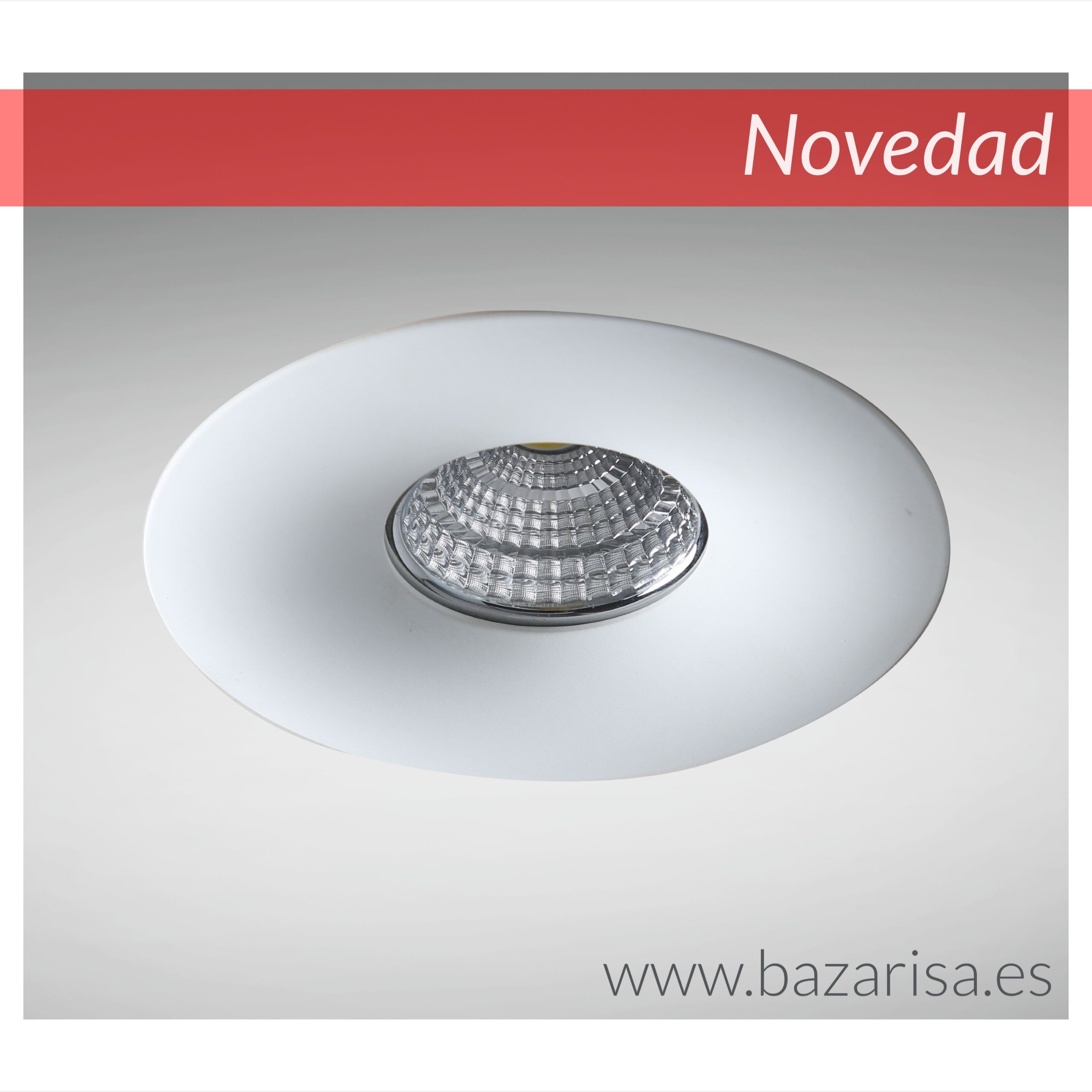 Lamparas Salon Modernas Led Nuevo Foco Empotrable Led Blanco Liso Focos Empotrados