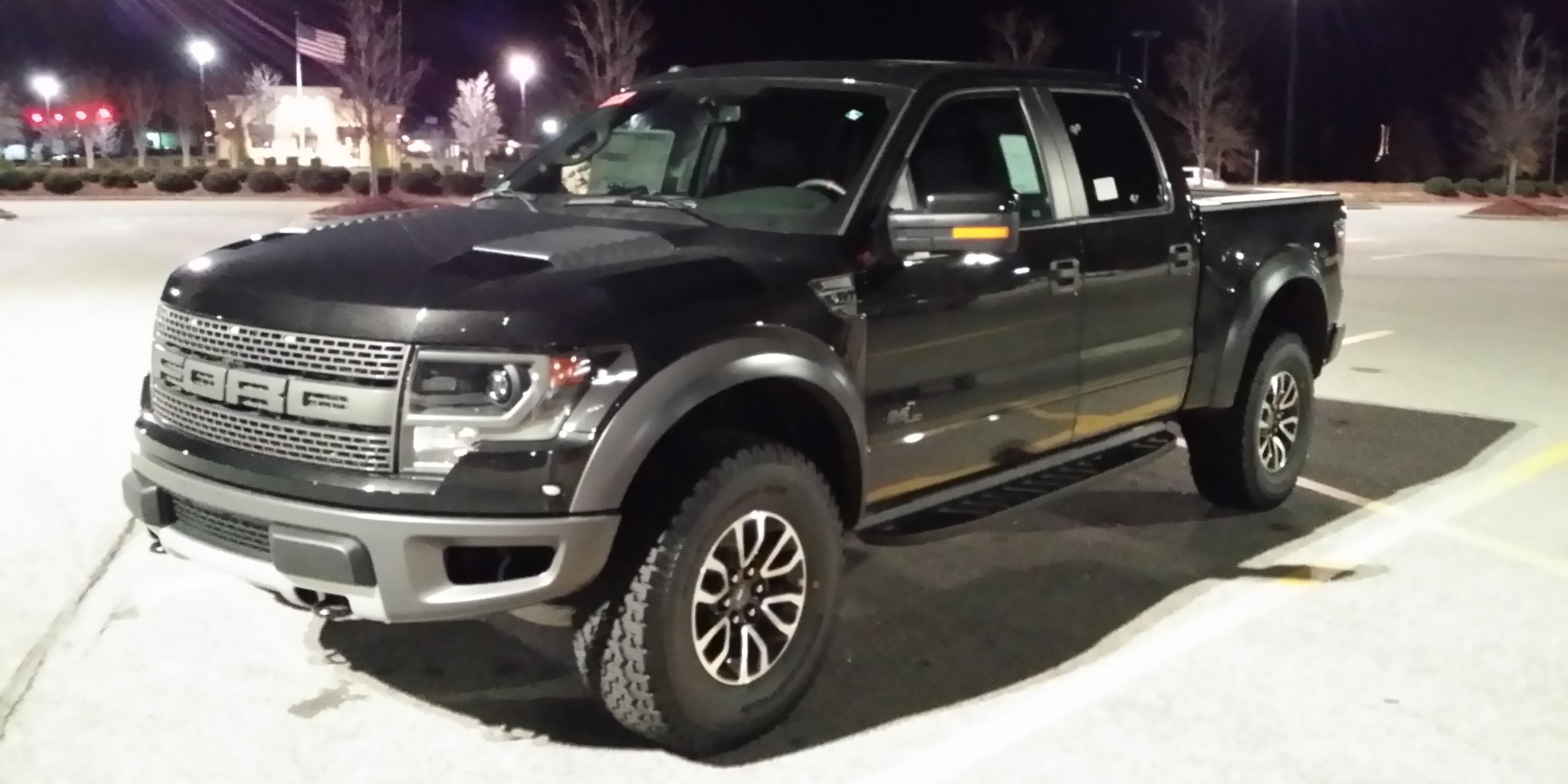 Ford Raptor 2015 Black
