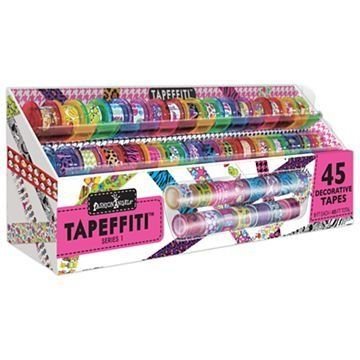 Fashion Angels Tapeffiti Deluxe 45 Decorative Tapes With Caddy Series 1 By Fashion Angels Http Www Amazon Com Decorative Tape Fashion Angels Kids Toy Store