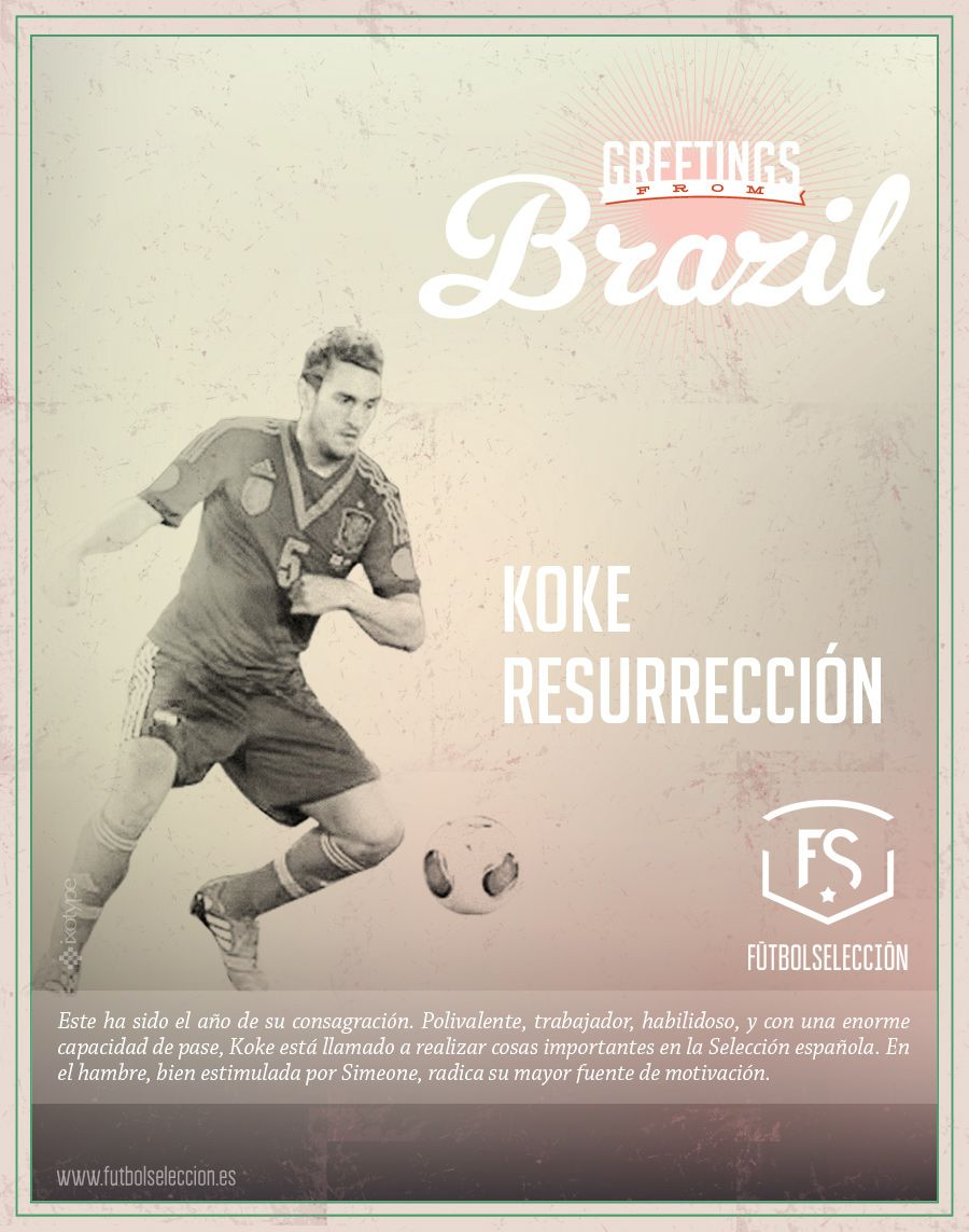 Greetings from brazil koke futbol seleccion nacional futbol greetings from brazil koke m4hsunfo