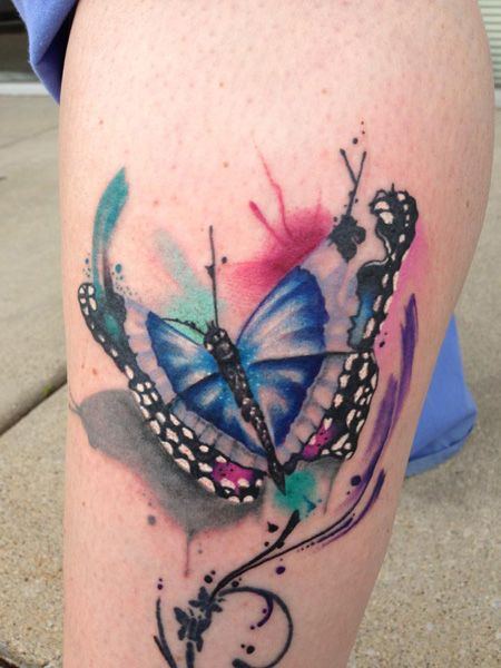 watercolor butterfly tattoo - Google Search | Tattoos ...