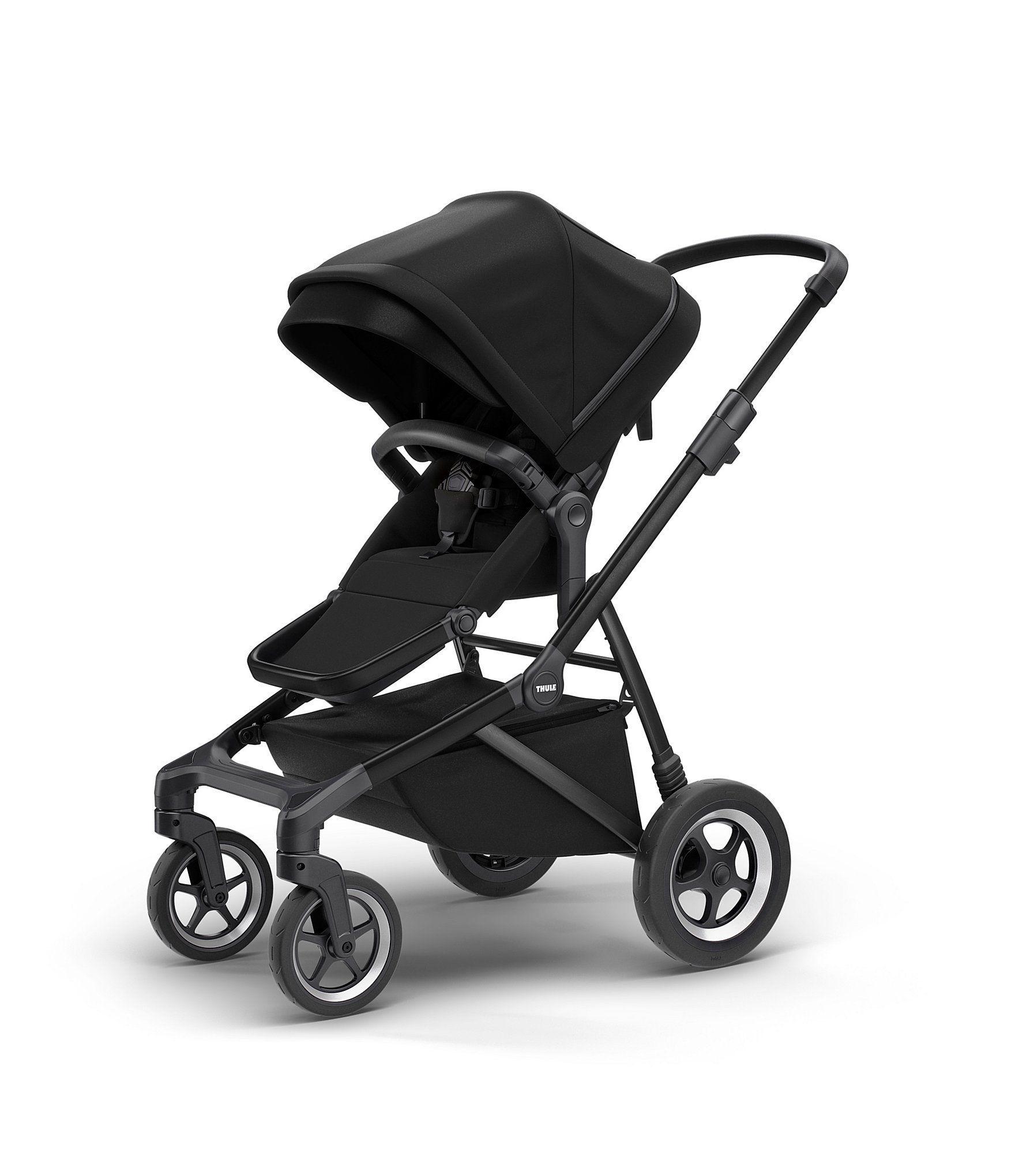 Thule Sleek City Stroller Black On Black N/A Discover