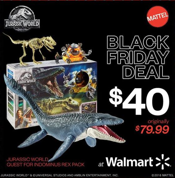 Mattel Jurassic World Fallen Kingdom Quest For