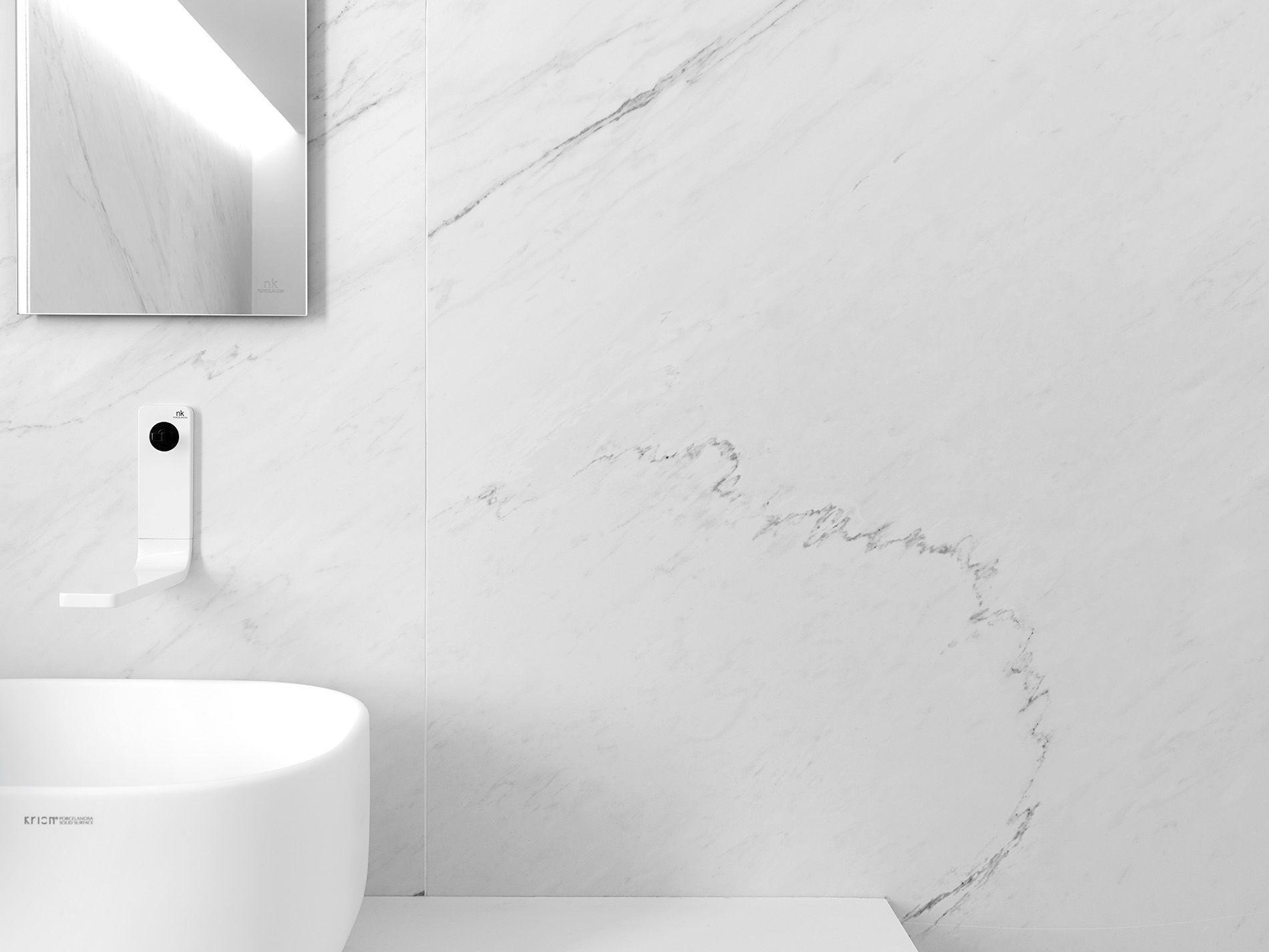 Carrelage Mural / Pour Sol / En Grès Cérame / Brillant   XLIGHT PREMIUM  LUSH WHITE
