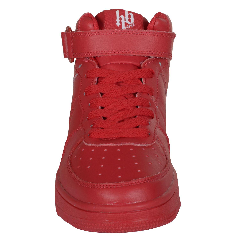 Herren Rookie High Sneaker rot – STYLEKINGZZ