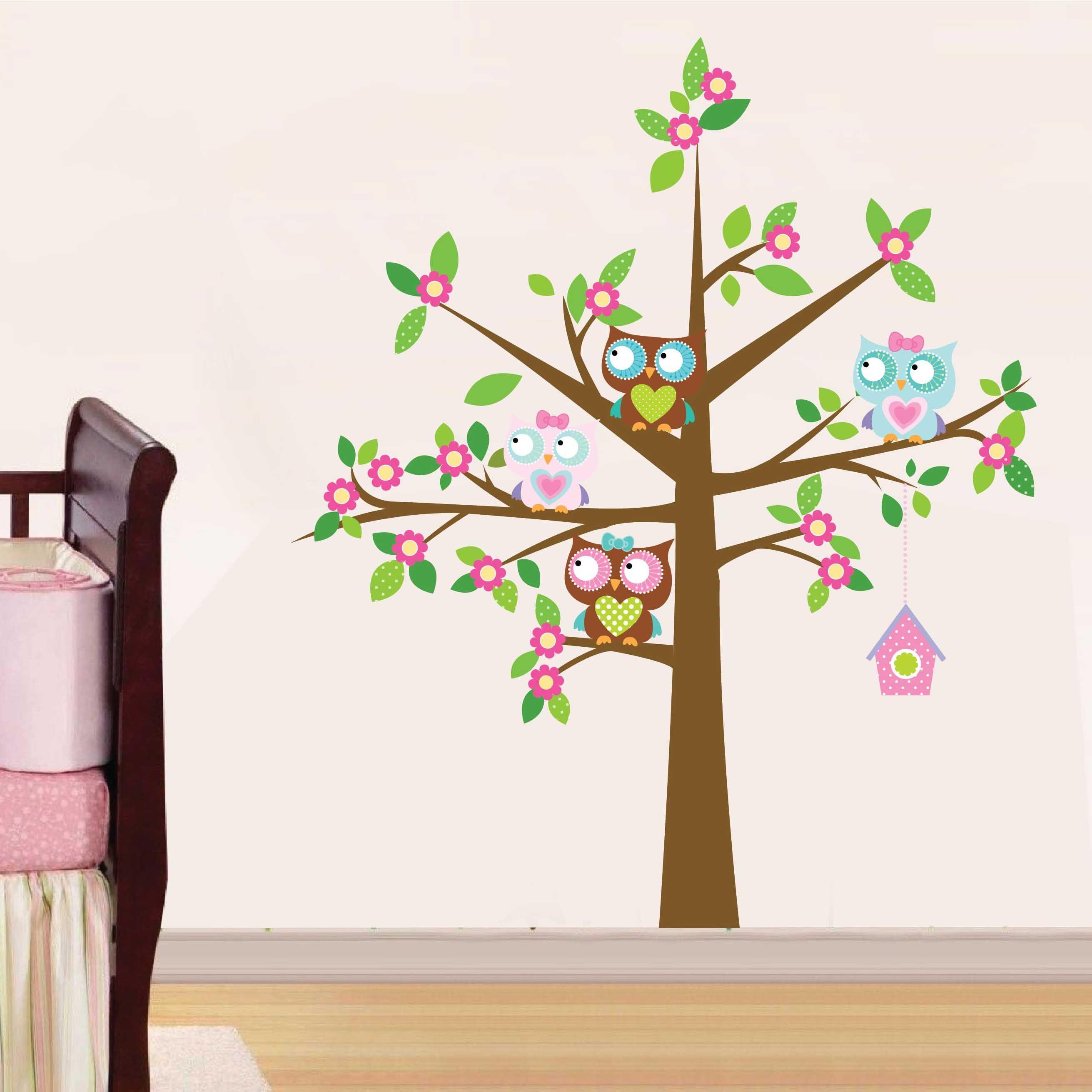 Kit de vinilo decorativo arbol con lechuzas bebes pinterest vinilo autoadhesivo lechuzas - Vinilos de arboles ...