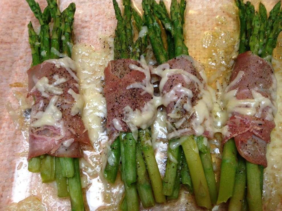 Ina Garten Appetizer Recipes asparagus & prosciutto bundles. the recipe is in ina garten's