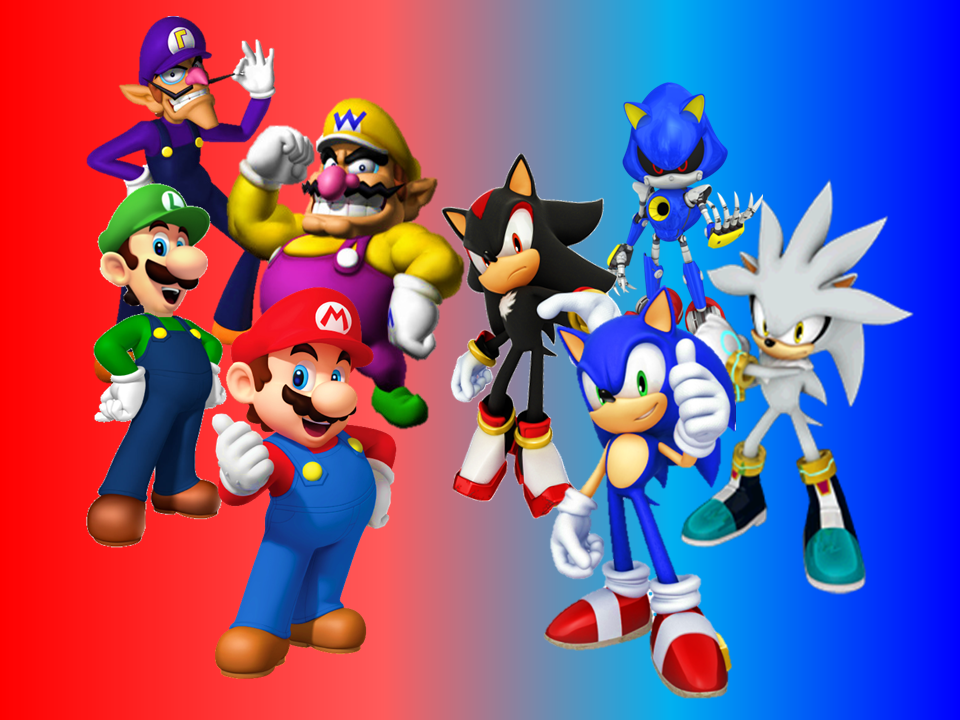 Mario And Sonic And His Rivals Wallpaper By 9029561 Sonic S