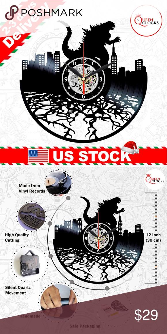 Bob Marley Vinyl Clock Wall Art Decor Men Gifts Usa Stock Fast And Free Shipping Handmade From A Used 12 Inch Vinyl Record Clo Record Wall Art Wall Art Decor Art Decor