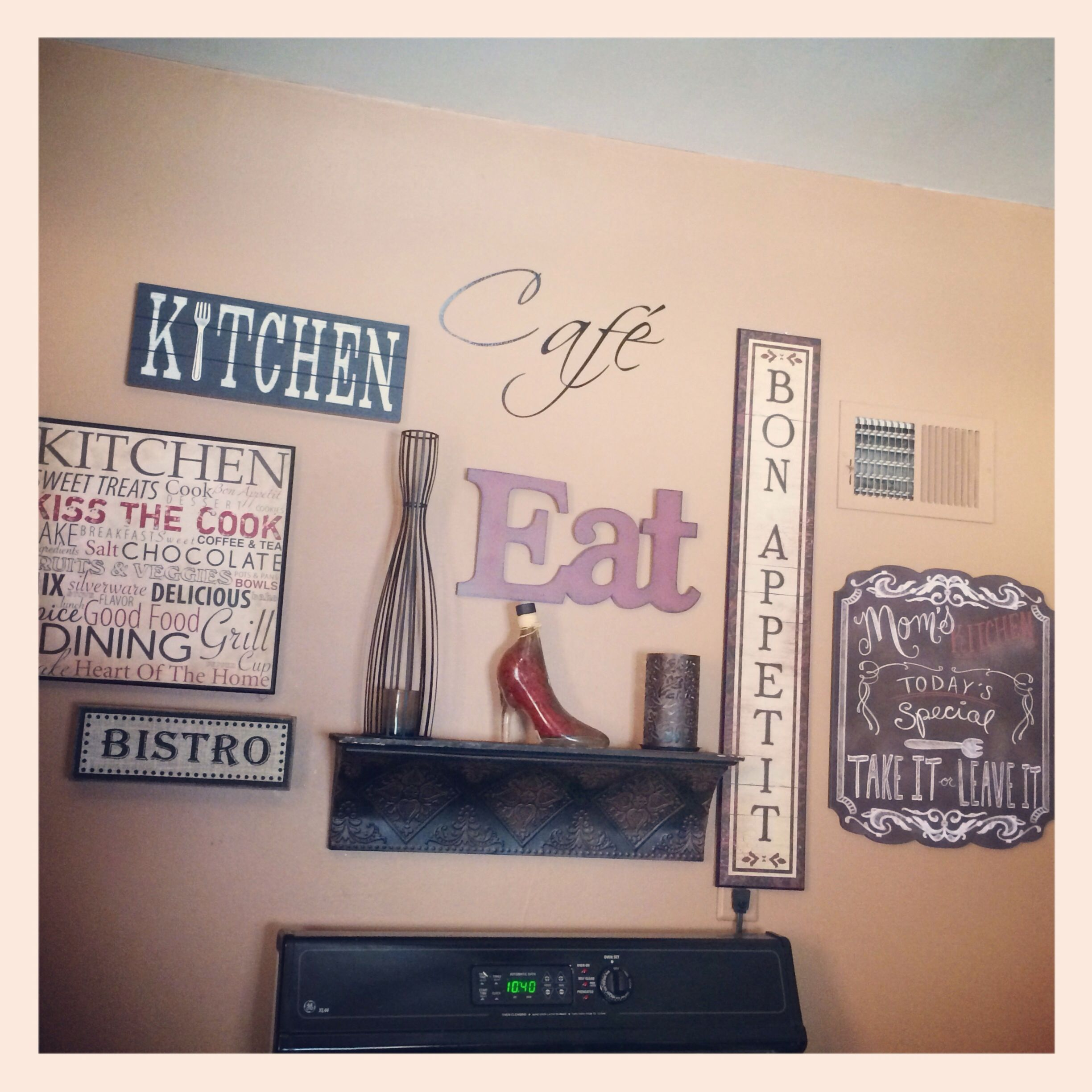 My Kitchen Gallery Wall Kitchen Gallery Wall Dinning Room Decor