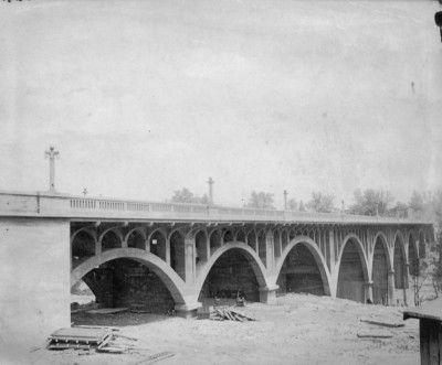 Danville Il Mill Street Bridge 1916 Danville Illinois Bridge