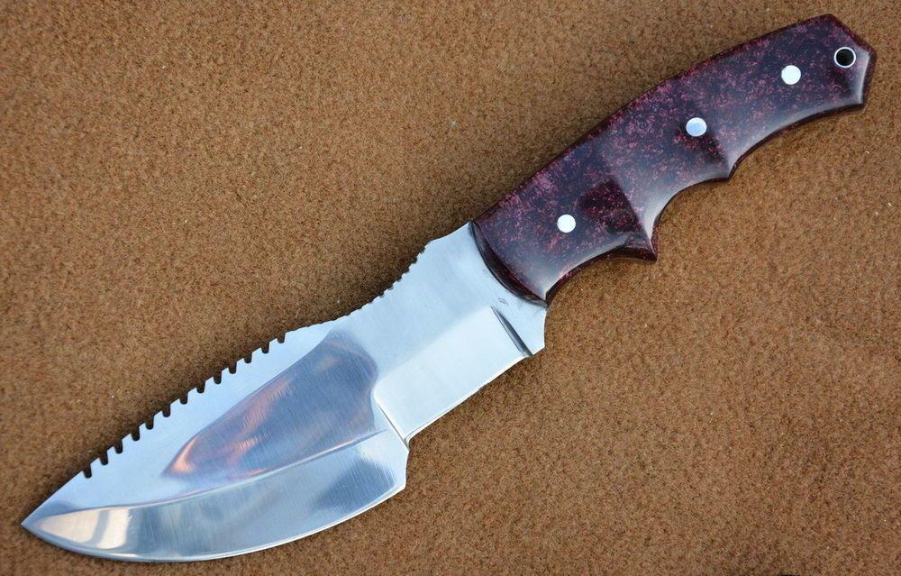 Knives Exporter 1095 Steel Made Tracker Hunting Knife Ke S02 Plastic Handle 1095 Steel Selling On Ebay Knife