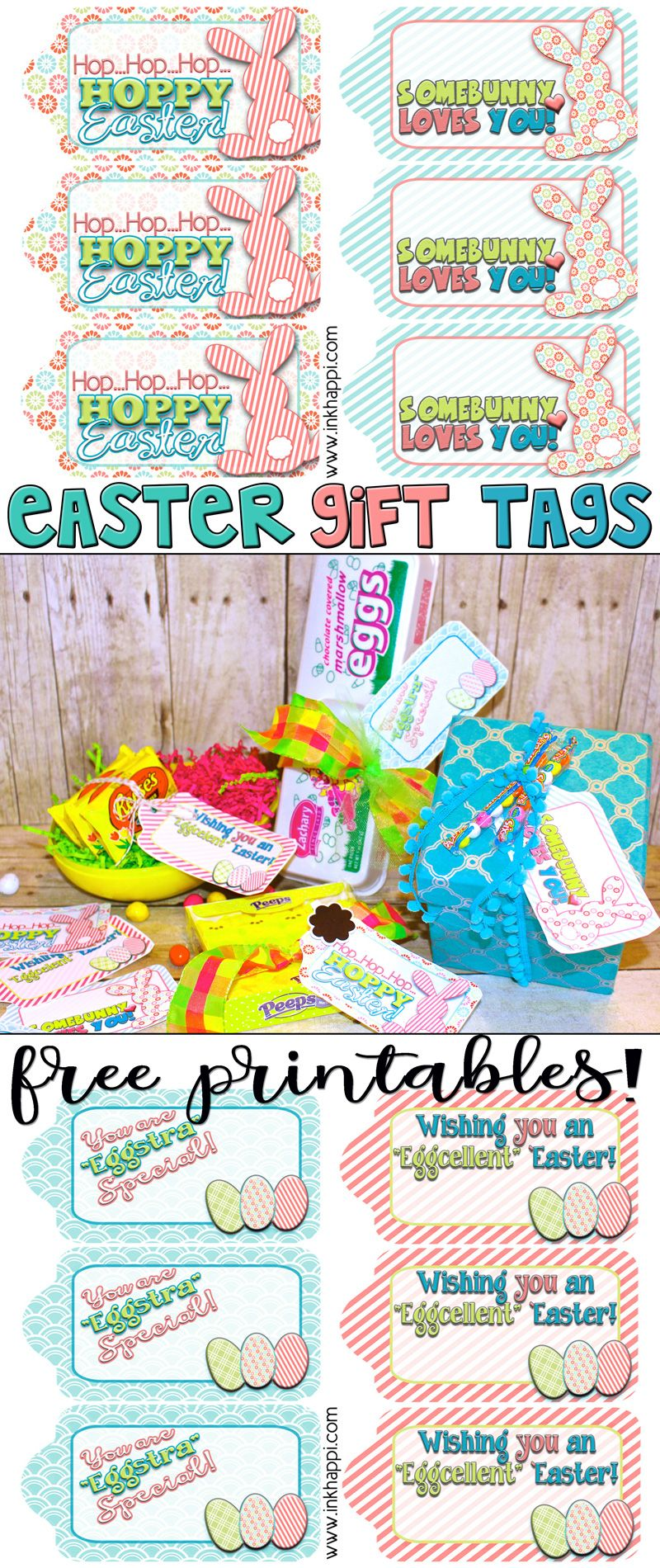 Easter gift tags to help wrap it pretty free printable easter easter gift tags to help wrap it pretty inkhappi negle Image collections