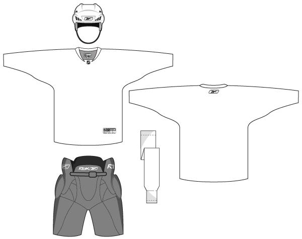 Hockey Uniform Template Vector Free Fashion Design Template Shirt Template Vector Free