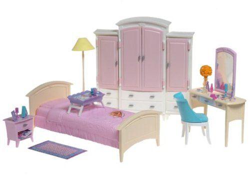 Pin by Mashael Al-Mehmadi on WTB to repaint   Barbie bedroom ...