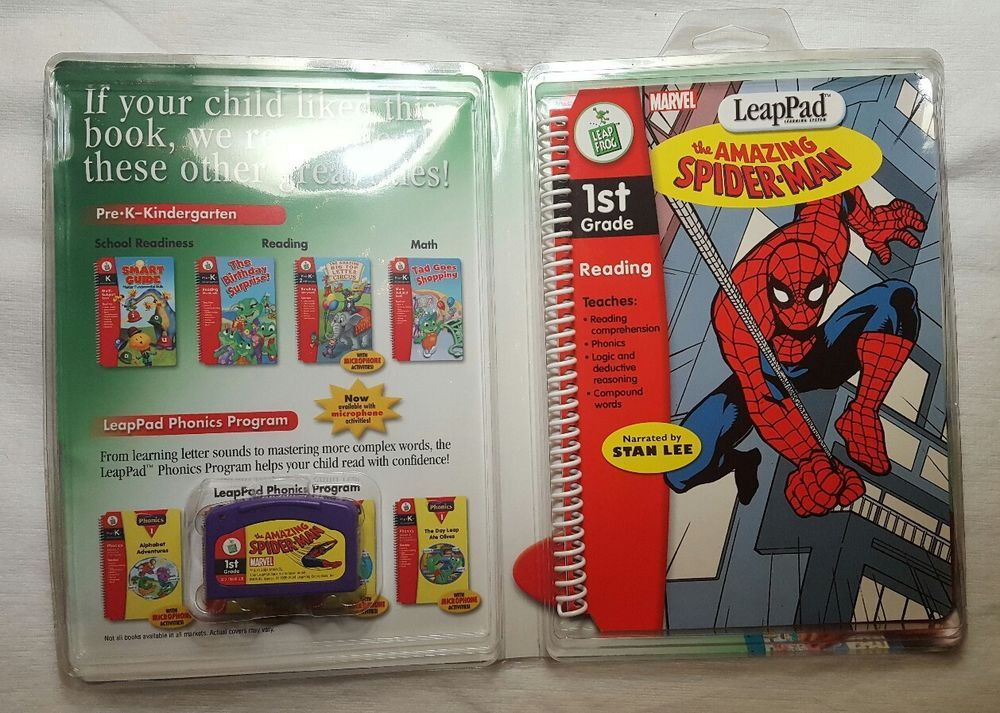 Spider-Man LeapPad 1st Grade Book