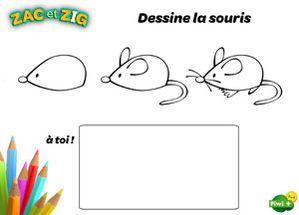Apprends à Dessiner La Souris Drawing Is Easy Souris