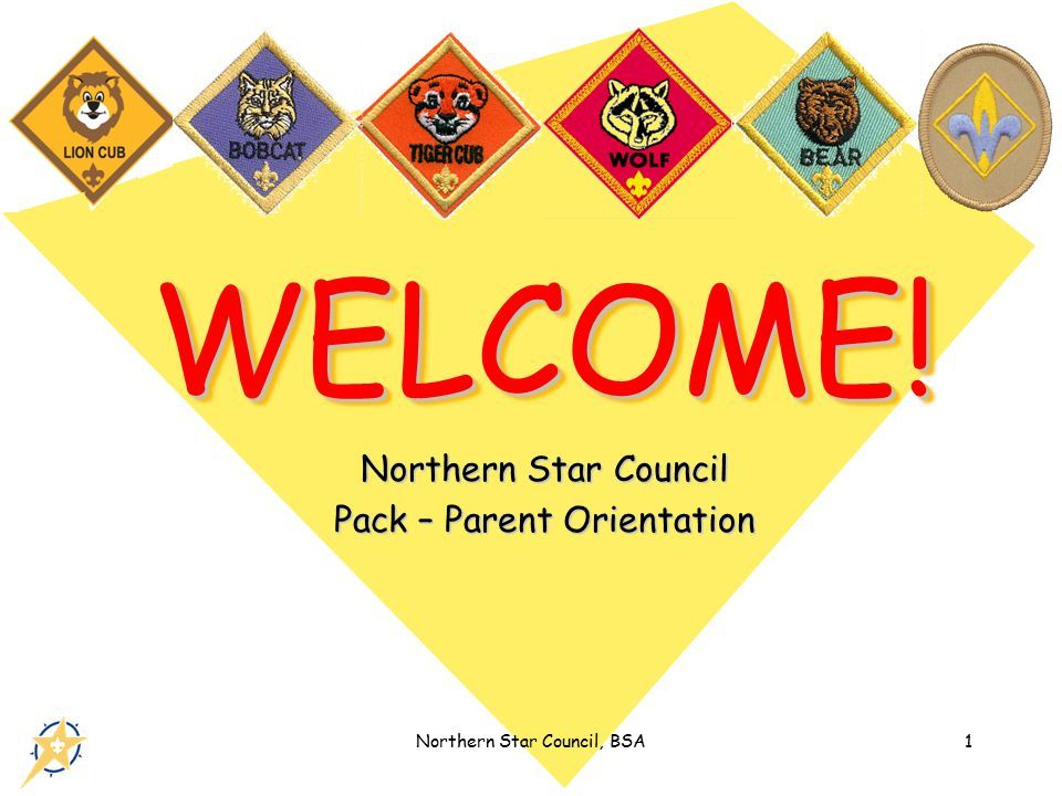 Northern Star Council Pack – Parent Orientation - ppt