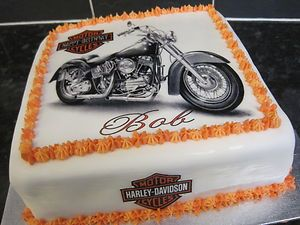 Harley Davidson Cake Toppers HarleyDavidson Cake Decoration add