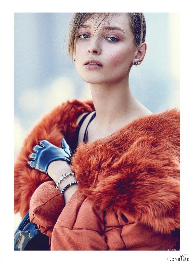 Here Comes The Fuzz in Fashion with Daga Ziober wearing Emanuel Ungaro,Fendi - Fashion Editorial | Magazines | The FMD #lovefmd