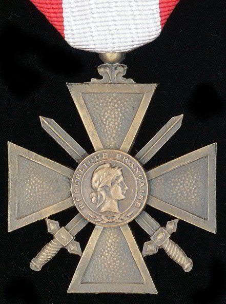 Croix de Guerre TOE obverse