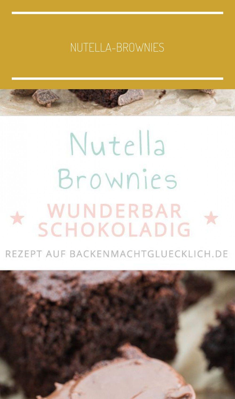 Das perfekte Nutella-Brownie-Rezept: einfach, schnell und mit köstlichem Ergebnis! Die Nutella-Bro