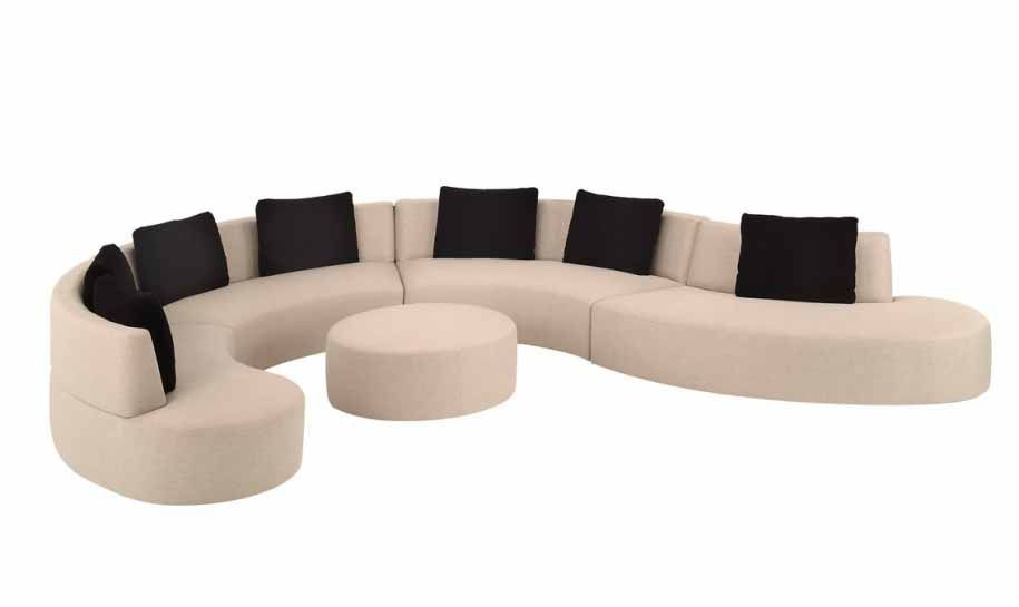 interesting shape on extremely uncomfortable looking sofa! | Oran Na ...