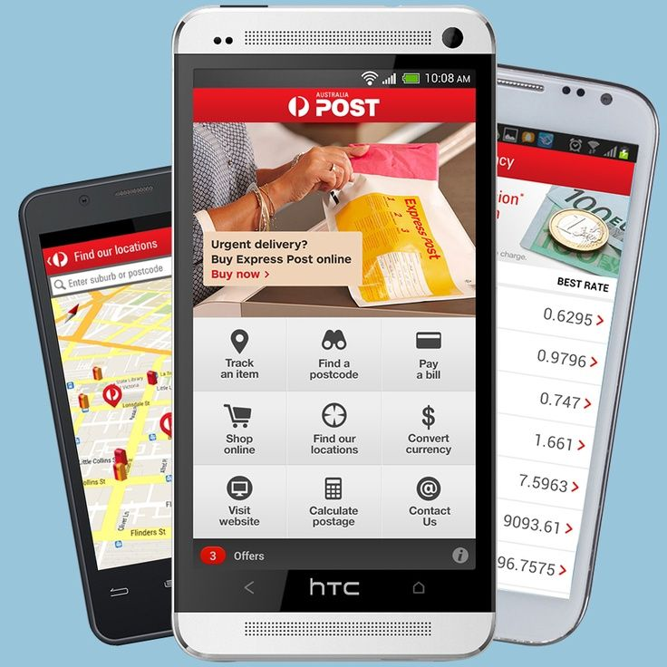 With our handy new Android App you can track parcels, scan
