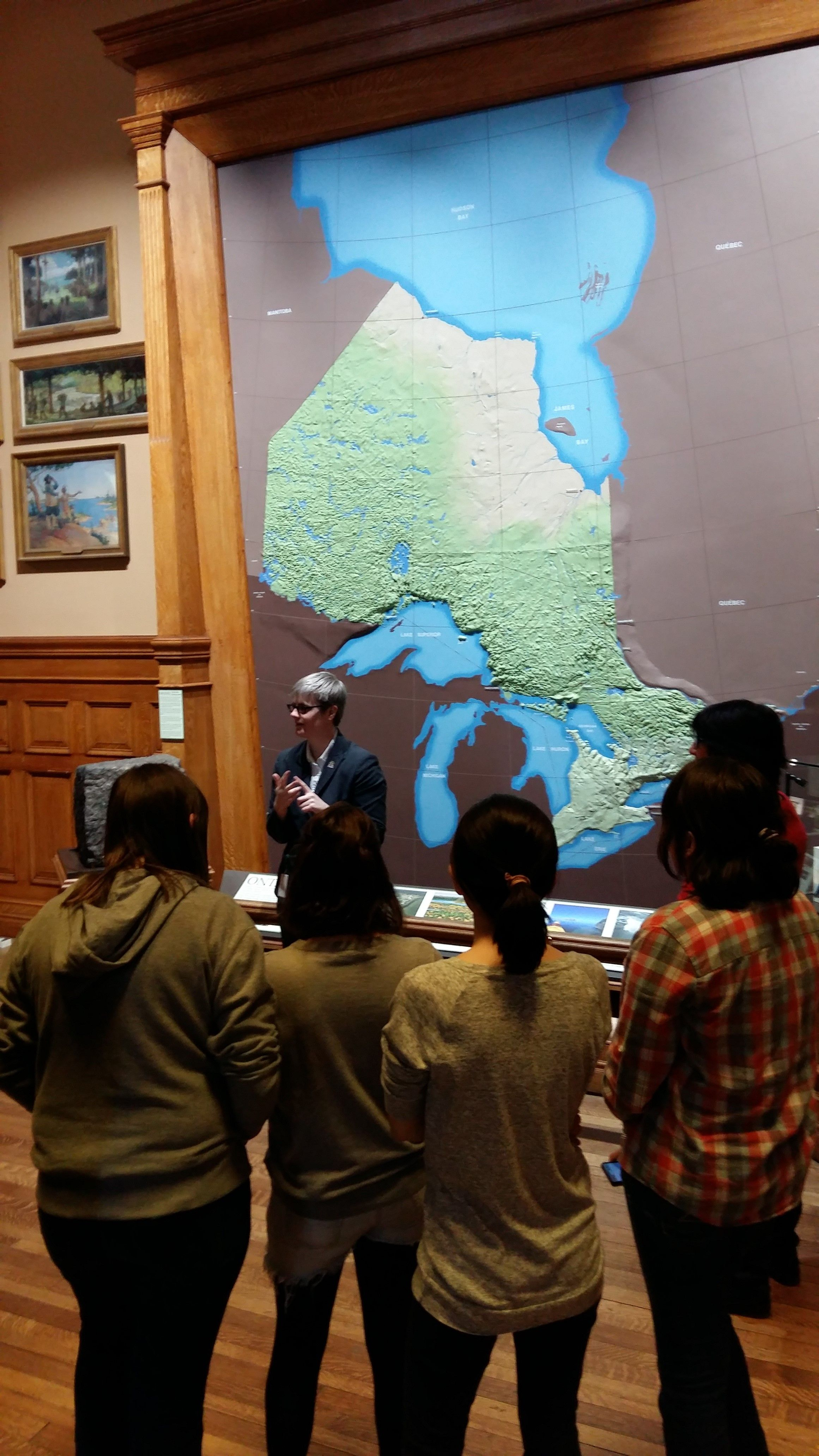 Start of talk about Province of Ontario more info at www