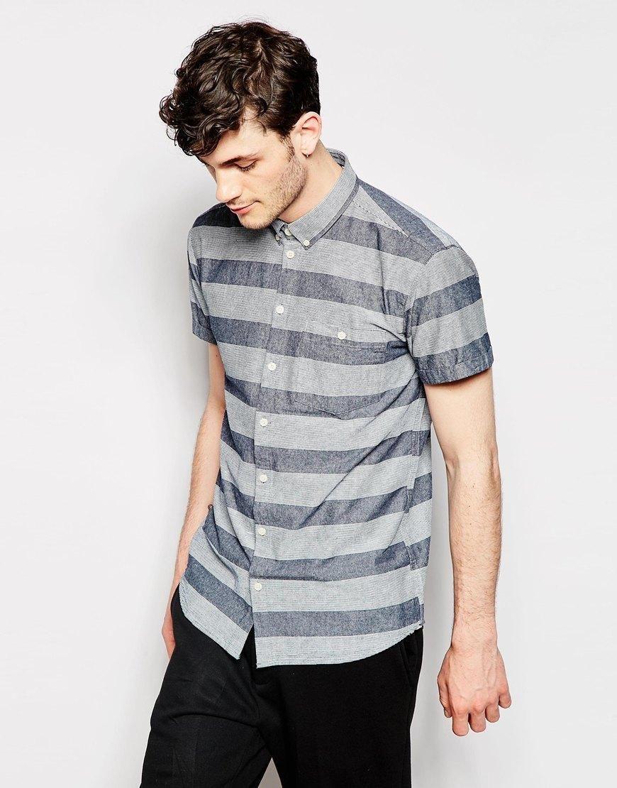 Hemd mit Querstreifen (€ 81,99) | Minimum