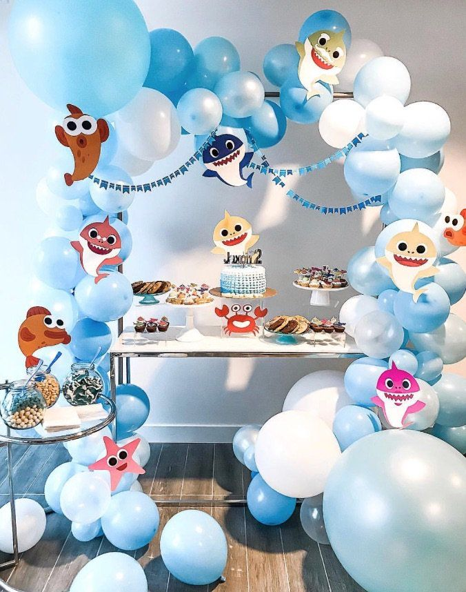 "13 ""Baby Shark"" Birthday Party Ideas For Your Kiddo"