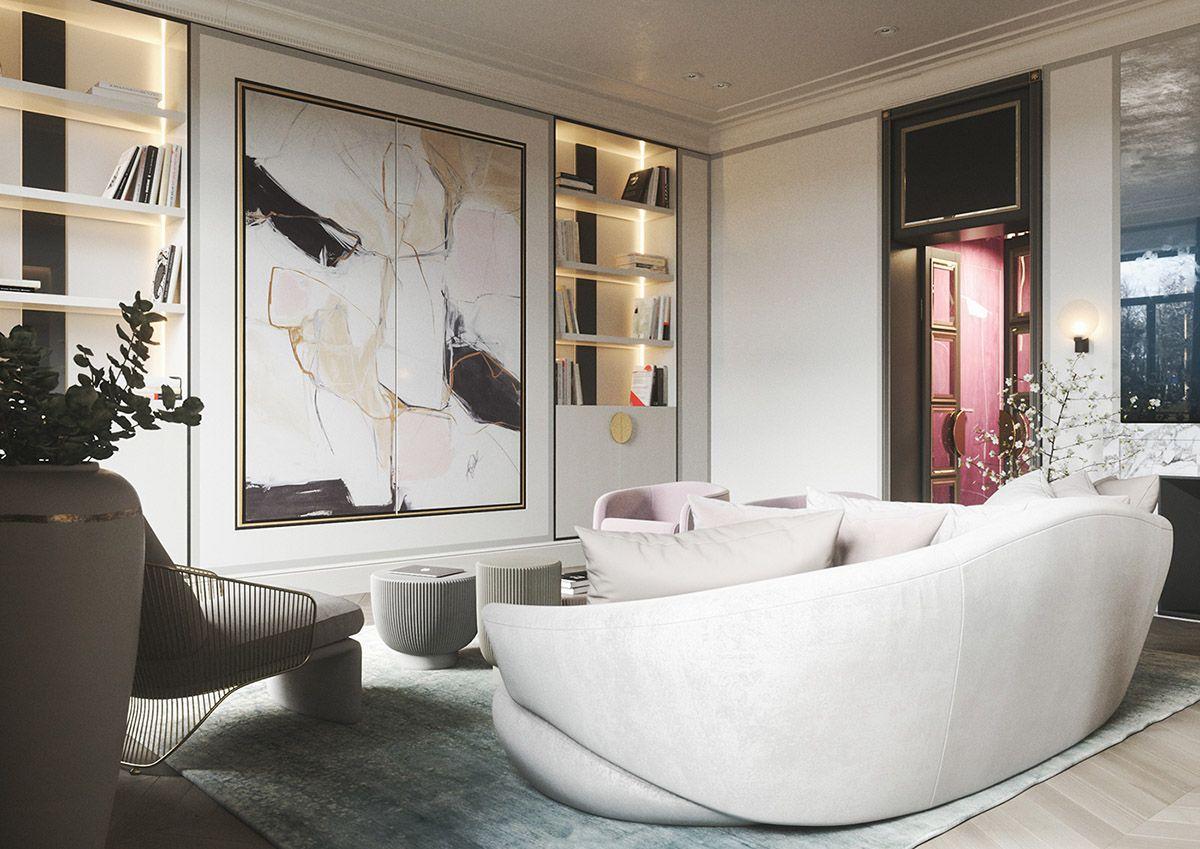 3 Home Interiors With Modern Elegance Elegant Home Decor Living