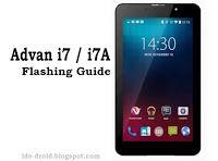 Cara Flashing Advan I7 Dan I7A Via Sp FlashTool Tested