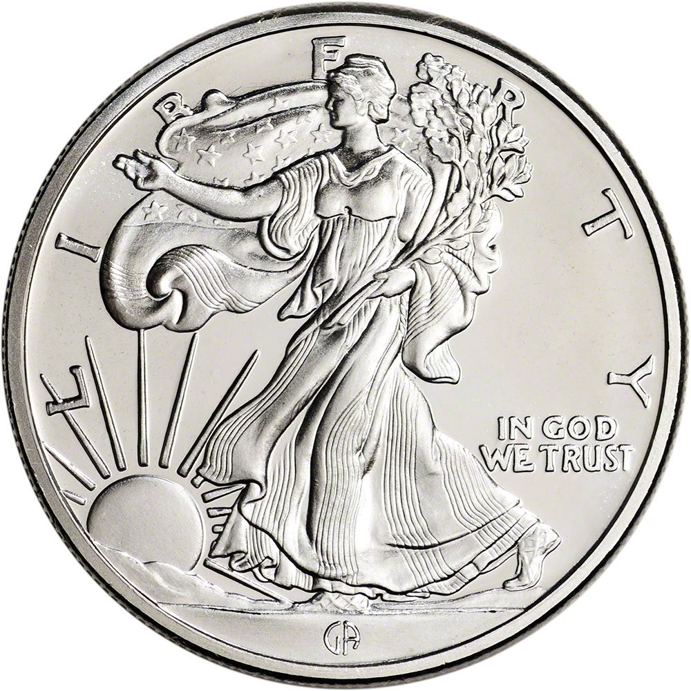 1 Oz Silver Round Great American Mint Liberty Design 999 Fine Silver Silver Bullion Silver Rounds Fine Silver