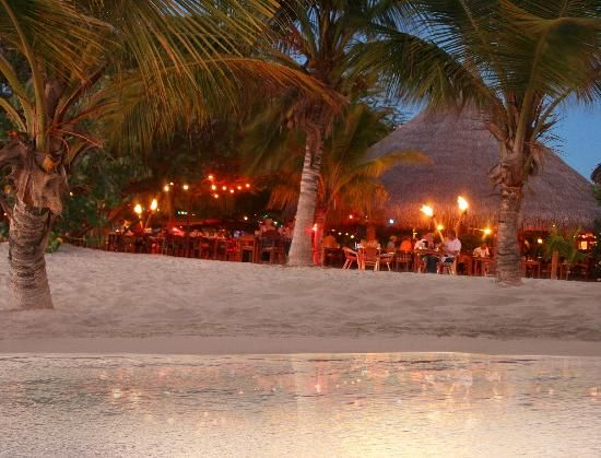 Moomba Beach Bar Restaurant Aruba