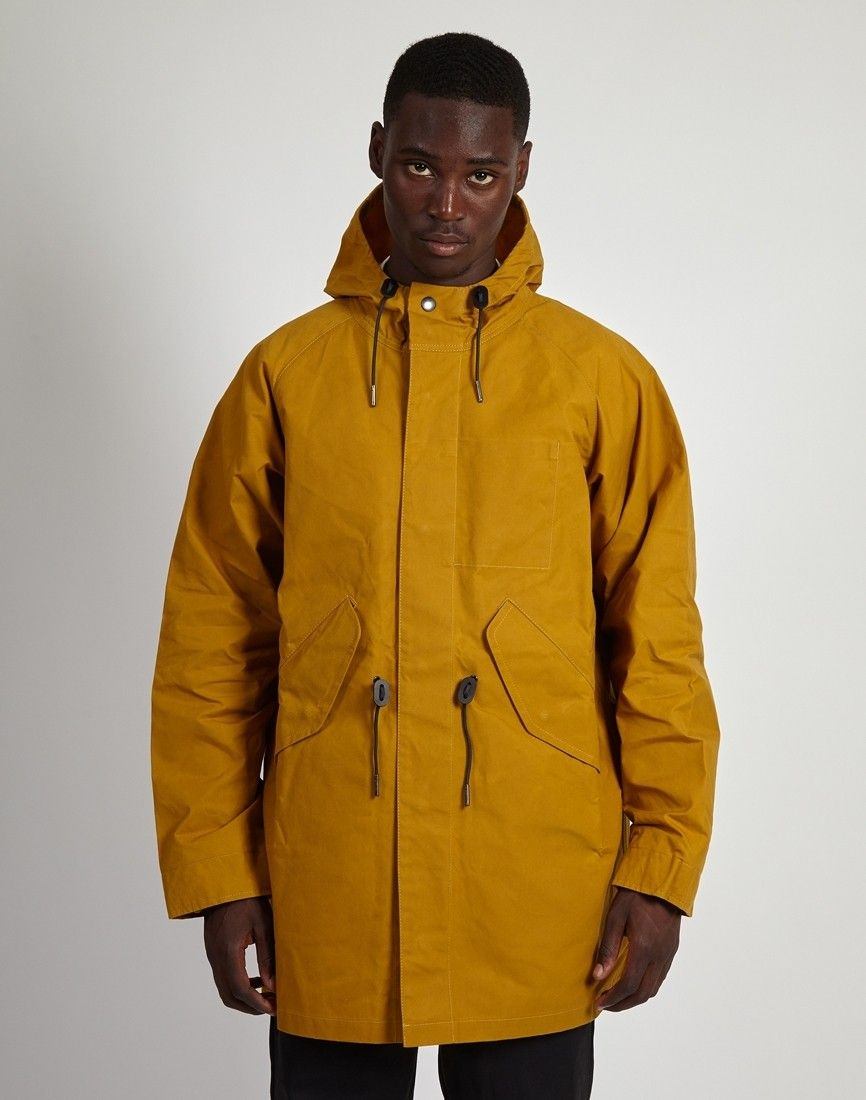 Yellow Fishtail Parka