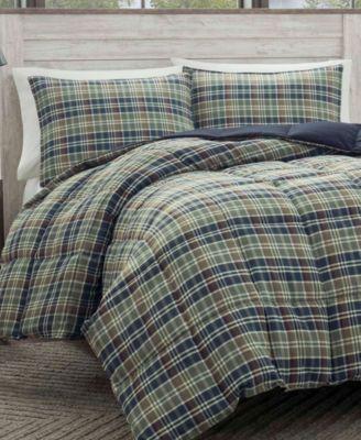 Eddie Bauer Rugged Plaid Multi Comforter Set Full Queen Reviews