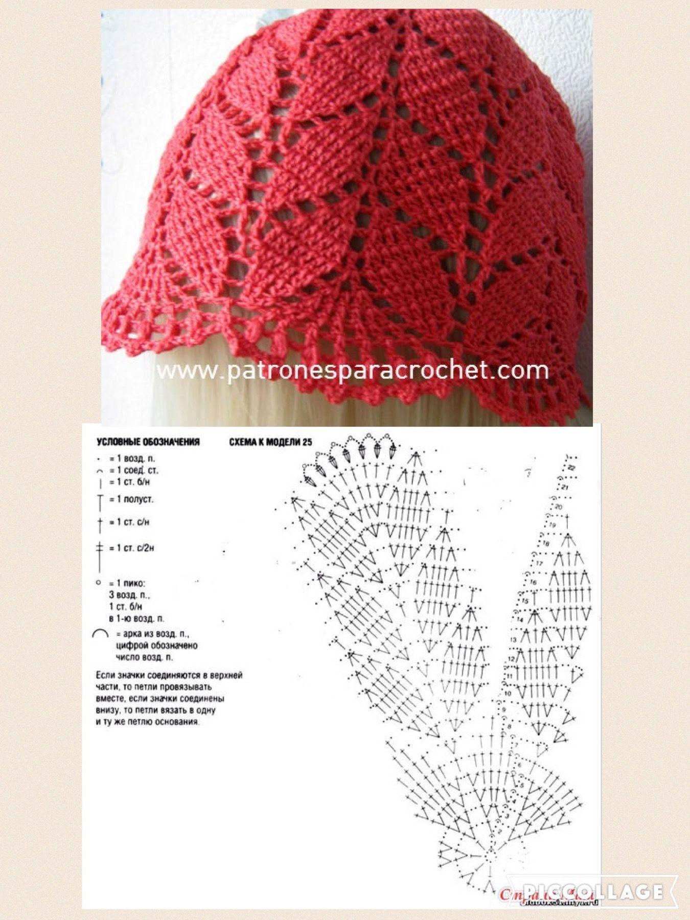 Pin de M.Eugenia en gorros | Pinterest | Croché, Gorro tejido y ...