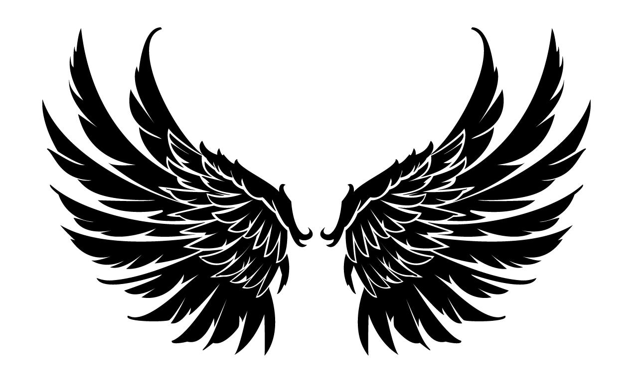 Wings Vector Gma Set 22 Skulls And Wings Prvs 04 Png 1270 770 Gambar Sayap Sayap Malaikat Seni Animasi